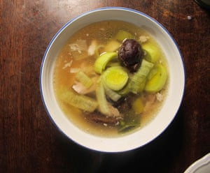 Xanthe Clay's cock-a-leekie soup