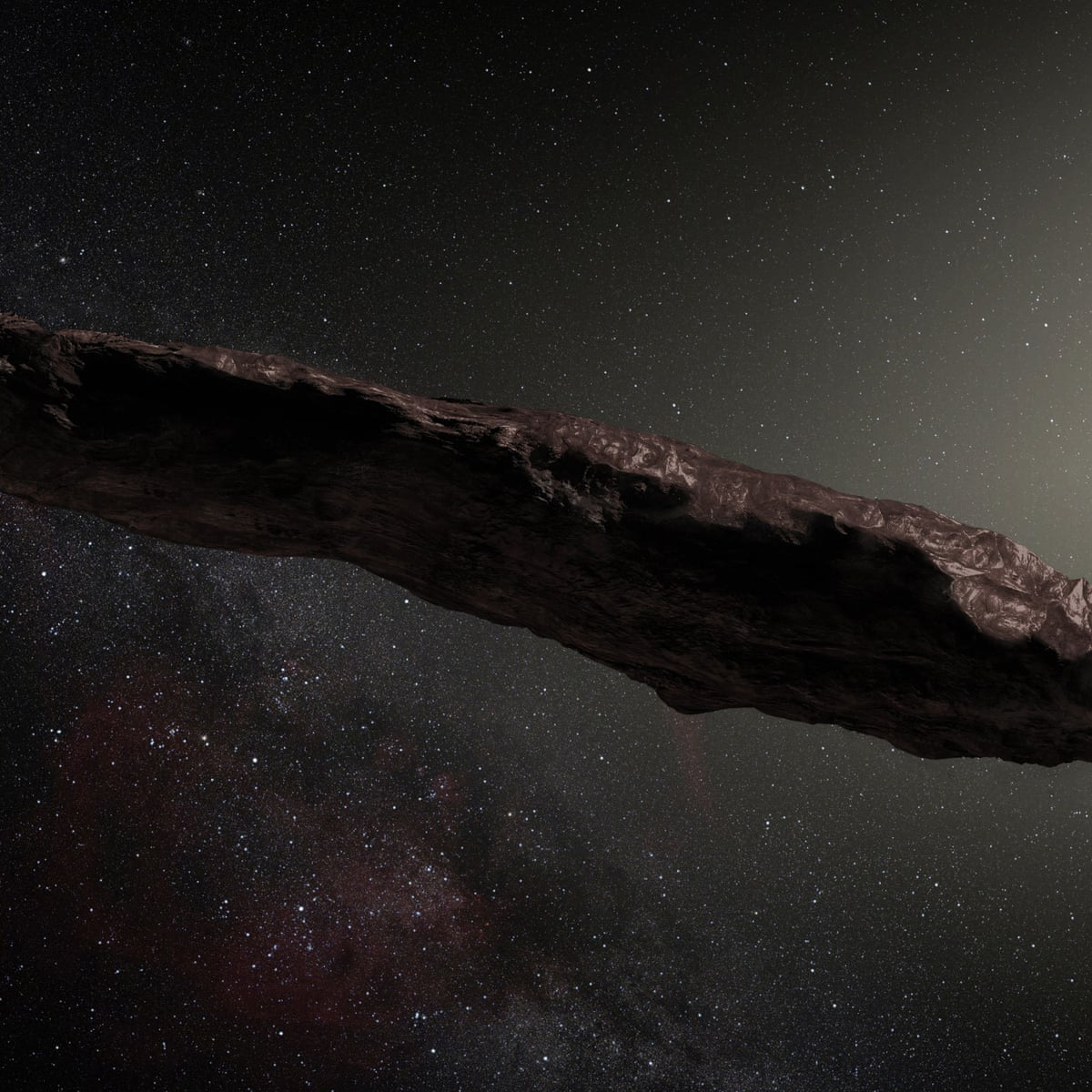 Interstellar visitor 'Oumuamua probably came from a two-star system |  Science | The Guardian