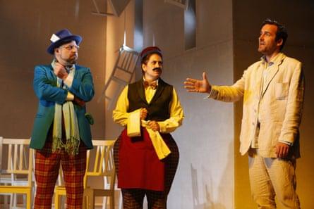 Zinnie Harris's Rhinoceros, directed by Murat Daltaban