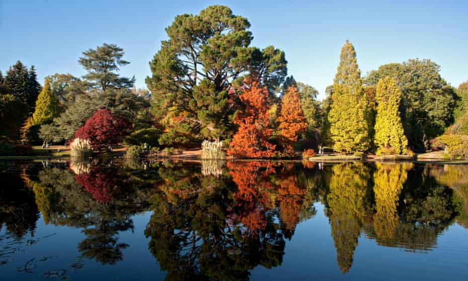 Sheffield Park and Garden, East Sussex, UK.