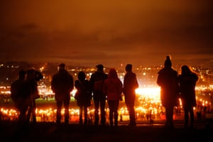 The Torchlight procession