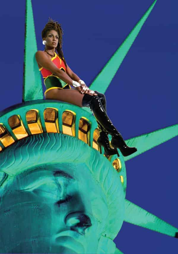 Renee Cox's Chillin' with Liberty, from 1998.