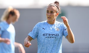 England's Lucy Bronze is back in the WSL with Manchester City after a highly successful spell at Lyon.