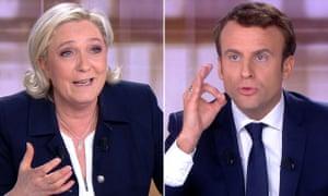 'Madame Le Pen, talk about YOUR programme, not mine.