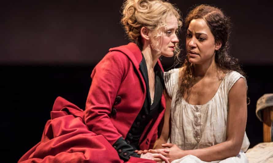 Anne-Marie Duff and Cush Jumbo in Common at the National Theatre.