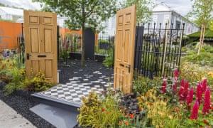The Modern Slavery Garden designed by Juliet Sargeant.
