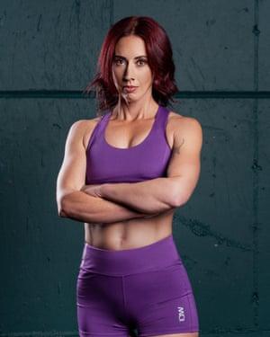 Kettlebell athlete and gym owner Eilish Kidd.