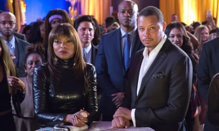 Taraji P Henson and Terrence Howard in Empire: 'it contains the intrinsic cultural DNA of the black experience'