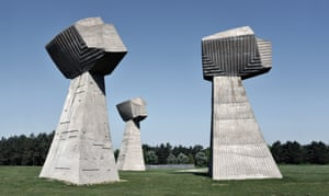 The Three Fists can be found in Bubanj Memorial Park, Serbia.