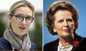 Alice Weidel and Margaret Thatcher