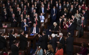 Liz Cheney(R) incoming GOP House Conference chairwoman speaks at the start of the 116th Congress and swearing-in ceremony on the floor of the US House of Representatives at the US Capitol on January 3, 2019 in Washington,DC.