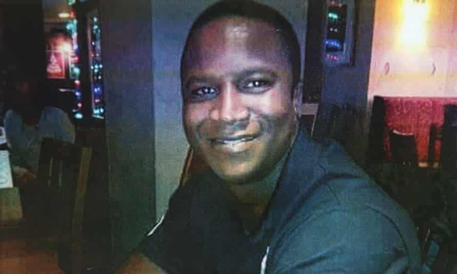 Sheku Bayoh was sprayed with CS gas and pepper spray before being forced to the ground by four police officers, his family's lawyer has said.
