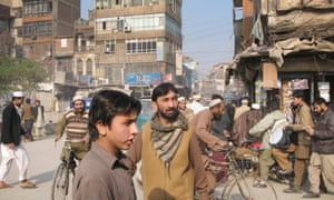 Peshawar, Pakistan, a city of 3.3 million people that has been deeply affected by terrorism.