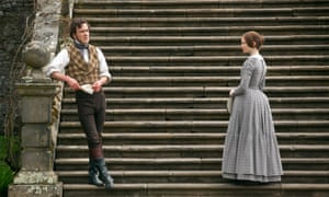 """""""2011, JANE EYRE<br>MICHAEL FASSBENDER & MIA WASIKOWSKA Character(s): Edward Rochester, Jane Eyre Film 'JANE EYRE' (2011) Directed By CARY FUKUNAGA 09 March 2011 SAD13849 Allstar/BBC FILMS  (UK/USA 2011)  **WARNING**This Photograph is for editorial use only and is the copyright of BBC FILMS and/or the Photographer assigned by the Film or Production Company & can only be reproduced by publications in conjunction with the promotion of the above Film.A Mandatory Credit To BBC FILMS is required.The Photographer should also be credited when known.No commercial use can be granted without written authority from the Film Company."""""""
