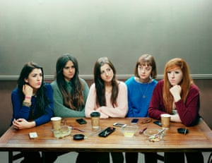 Five Girls 2014 by David Stewart Winner of Taylor Wessing Photographic Portrait Prize 2015