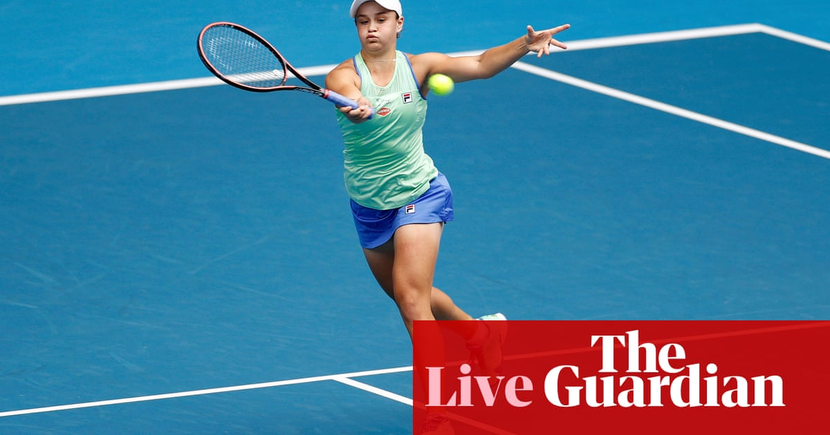 Australian Open 2020: Barty v Riske, Fucsovics v Federer and more – live!