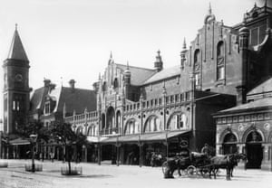 Southport Opera House c1900 - destroyed by fire in 1921, no reconstruction