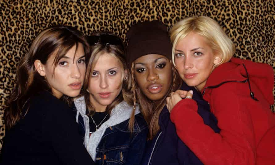 Back in the day ... All Saints in 1998.