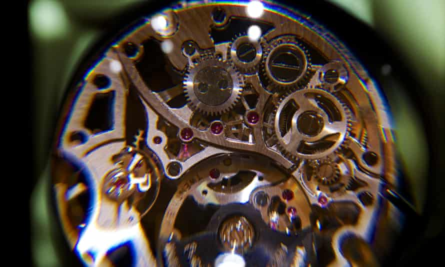 The inner workings of Richmeont's 1200S Piaget luxury wrist watch