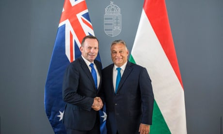 'People have come to join us, not change us': Tony Abbott on migration and supporting Orbán – audio