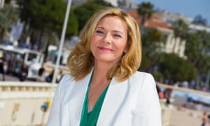 Kim Cattrall at the Cannes film festival