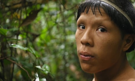Xina, the leader of Sapanahua tribe.