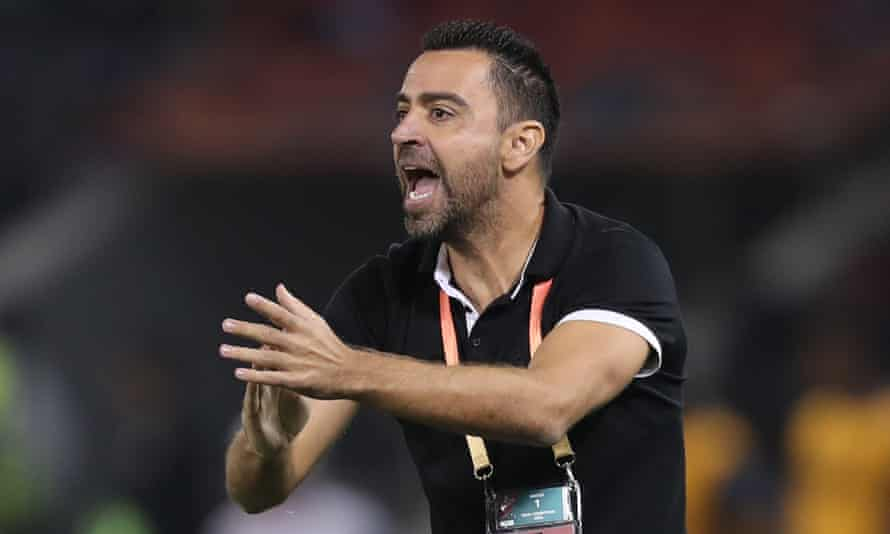 Xavi Hernandez, the manager of Al Sadd, has turned the chance to manage his former club, Barcelona.