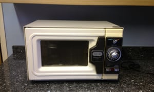 Brian Brough's Toshiba ER558 microwave bought in 1978 is still going strong.