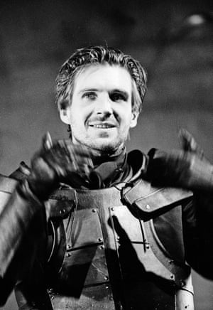 Ralph Fiennes as Edmond in the RSC's King Lear at the Barbican theatre in 1991. Directed by Nicholas Hytner