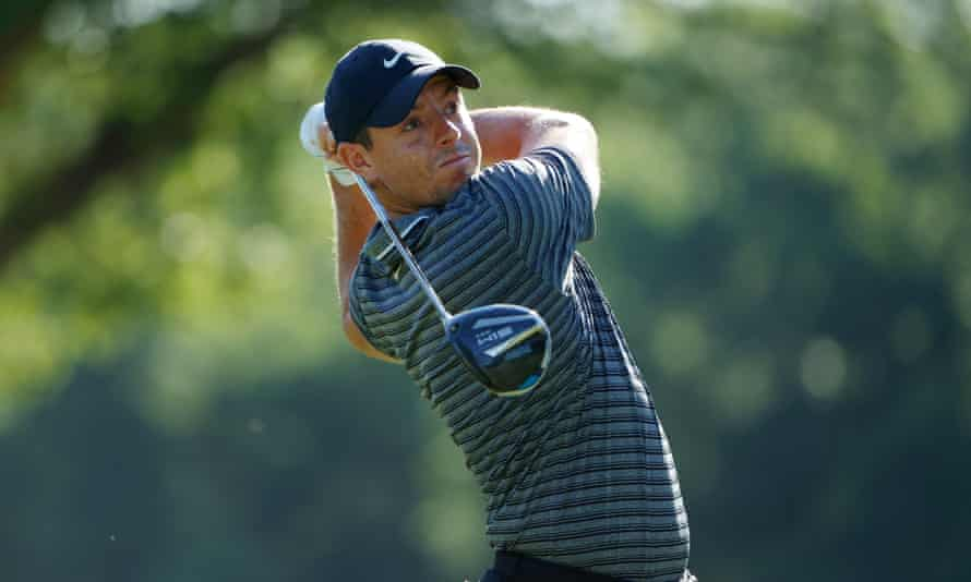 Rory Mcilroy Charges Up Leaderboard With Second Round 63 Golf The Guardian