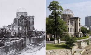 after the a bomb hiroshima and nagasaki then and now in  after the a bomb hiroshima and nagasaki then and now in pictures