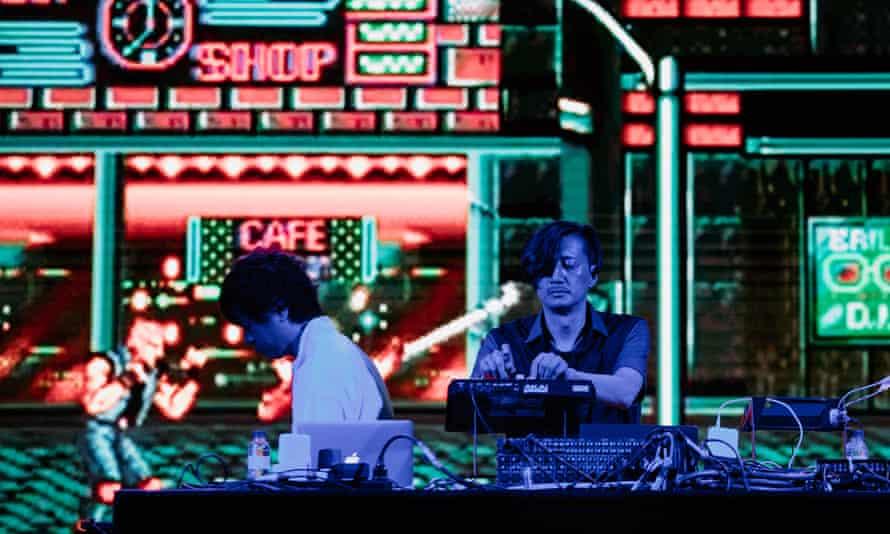 Streets of Rage composers Yuzo Koshiro and Motohiro Kawashima play at Sónar festival.