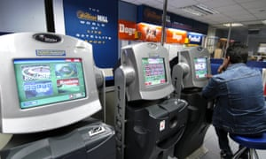 Machines in betting shop