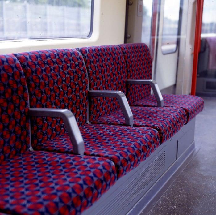 Sitting pretty: London transport fabrics over the decades