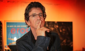 Lou Reed: still not taking requests.