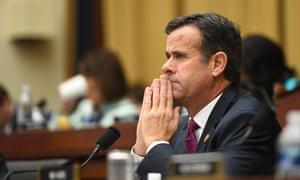 John Ratcliffe listens as Robert Mueller testifies in Washington DC, on 24 July.