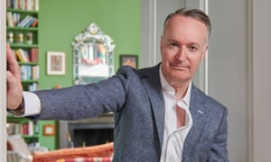 When I was growing up 'books were banned in our house – too untidy' … Andrew O'Hagan.