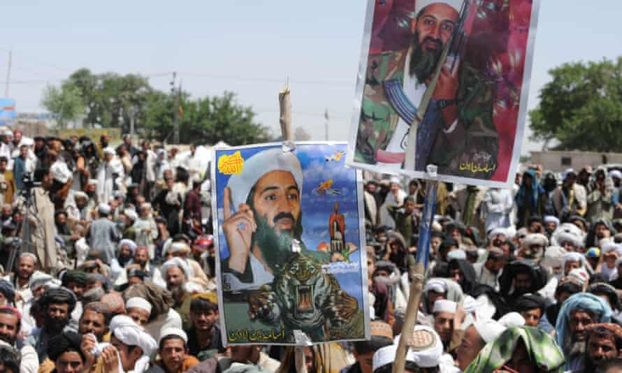 osama bin laden protests in quetta may 2011