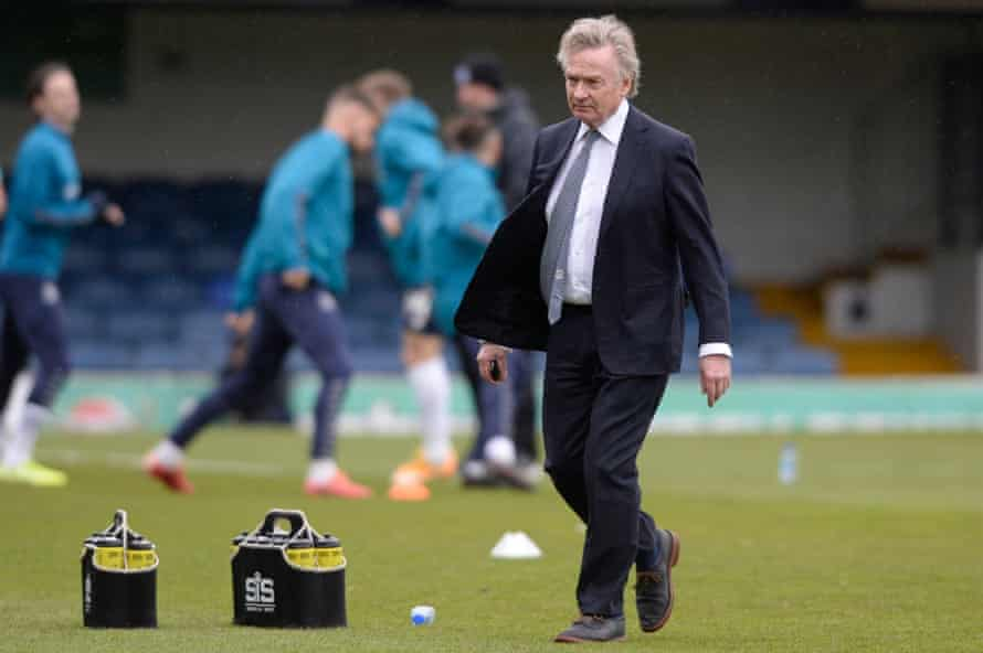 Southend's owner Ron Martin last Saturday. 'It would be a failure on my part if we got relegated,' he says.