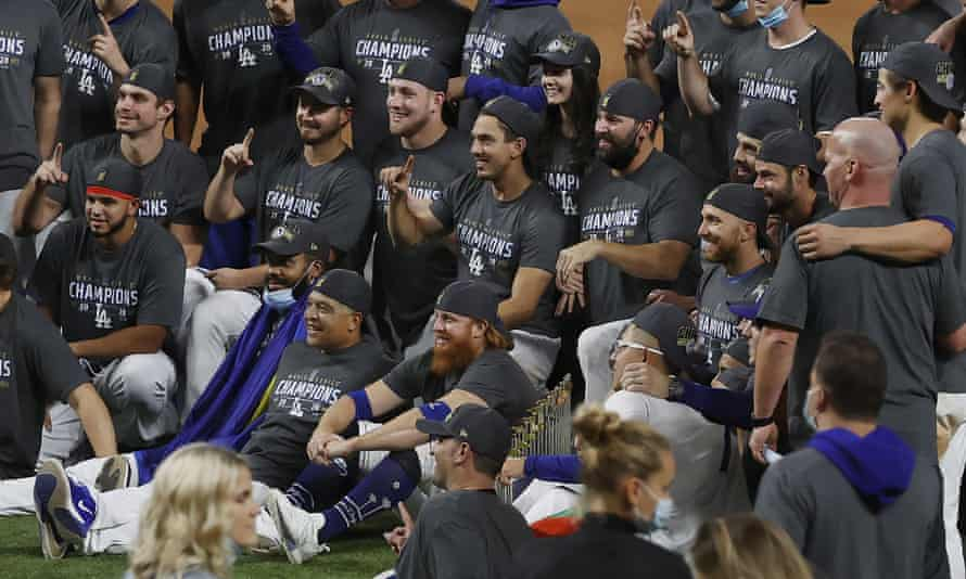 It's hard to see past another Dodgers celebration in October