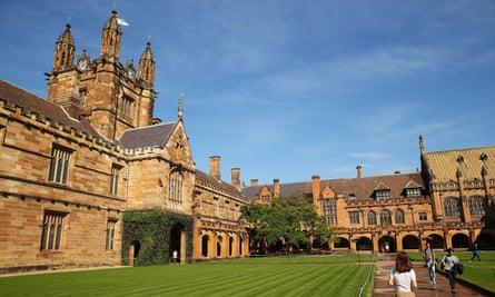 University of Sydney campus.