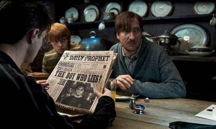 David Thewlis as Remus Lupin in Harry Potter and the Order of the Phoenix