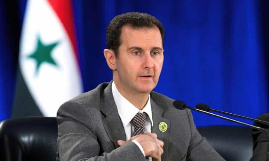 Syrian president Basher al-Assad: 'The main problem is his regime.'