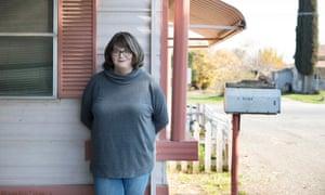 Jenny Beard in Porterville California on 19th December 2016. Pic to accompany Chris McGreal article. FAO Sarah Gilbert. pic © Dan Tuffs 2016 001 310 774 1780 dan@dantuffs.com www.dantuffs.com