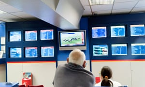 Bookmakers shop