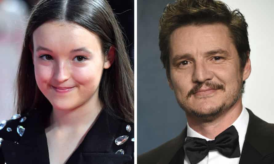 Game of Thrones stars Bella Ramsey and Pedro Pascal.