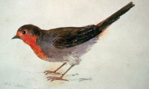 JMW Turner's Robin Redbreast, circa 1815.