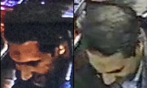 A composite CCTV image of Najim Laachraoui, who was previously identified in a false passport as Soufiane Kayal.