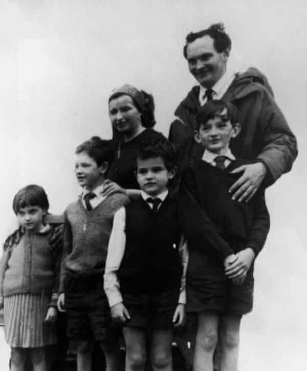 The Crowhurst family, October 1968.