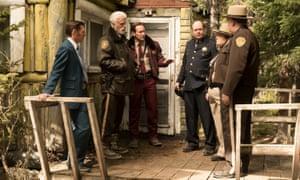 Keir O'Donnell as Ben Schmidt, Ted Danson as Hank Larsson, Patrick Wilson as Lou Solverson, Terry Kinney as Chief Gibson, Elizabeth Bowen as Trooper Sue Lutz, Wayne Duvall as Captain Jeb Cheney.